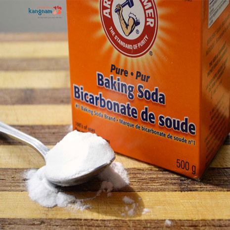 cách trị hôi nách bằng baking soda