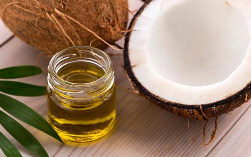 cách trị hôi nách bằng dầu dừa