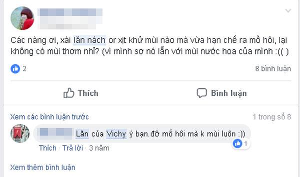 lăn nách Vichy