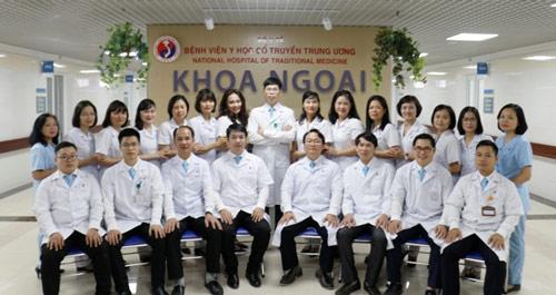 khoa ngoại bệnh viện y dược học cổ truyền trung ương