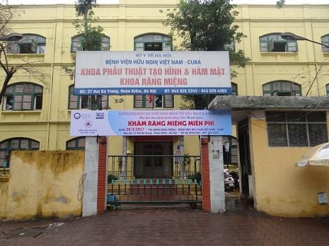 bệnh viện vietnam cuba có khoa sản