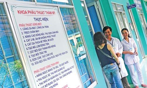 bệnh viện chợ rẫy khoa thẩm mỹ