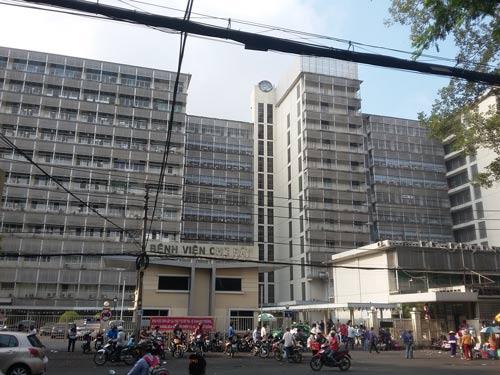 bệnh viện chợ rẫy nguyễn chí thanh