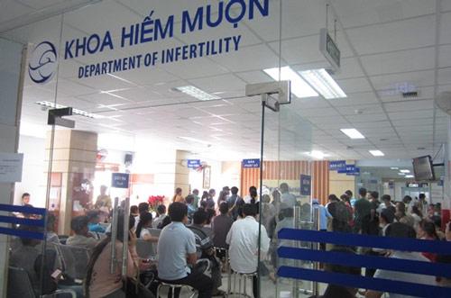 khoa hiếm muộn bệnh viện hùng vương