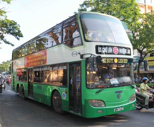 xe buýt đi bệnh viện hùng vương